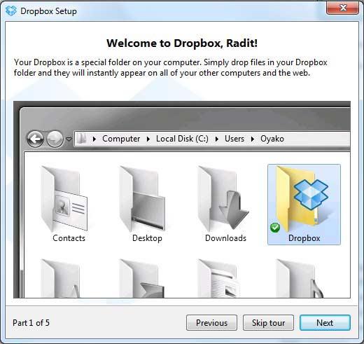 Penyimpanan Data Awan yang Mudah dan Gratis Menggunakan Dropbox