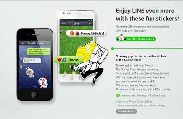 Chatting Di Smartphone Lebih Menyenangkan Dengan Line
