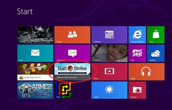 Bermain Dan Berolahraga Di Windows 8