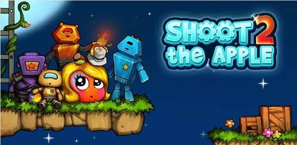 Tembakkan Alien Mengenai Apel Dalam Permainan Shoot The Apple 2