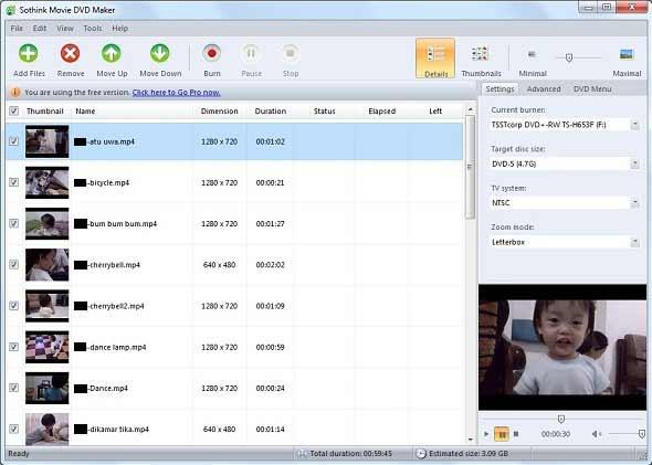 Rubah File Video ke Format DVD Dengan Mudah