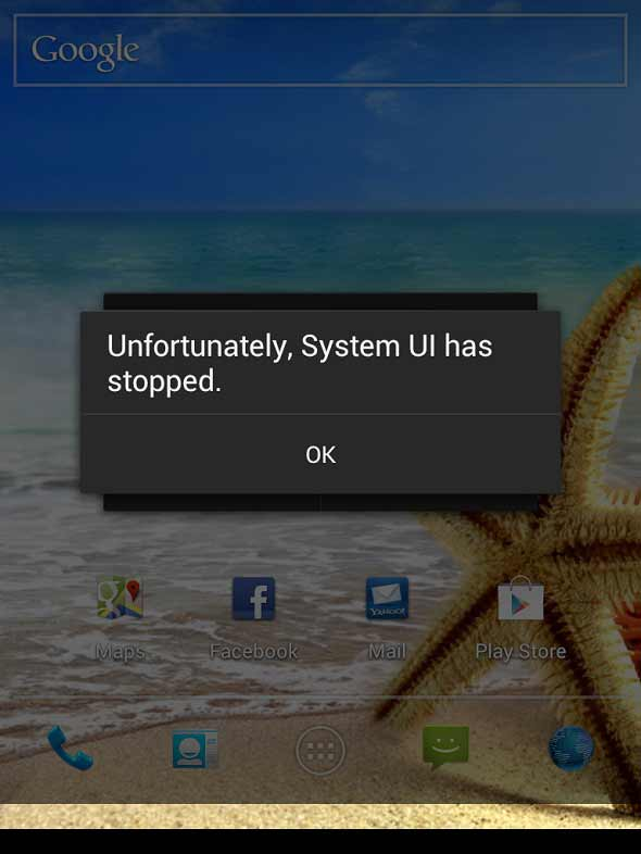 Kendala System UI Has Stopped Pada Vandroid T3i