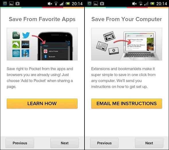 Melihat Halaman Website Secara Offline Dengan Aplikasi Pocket